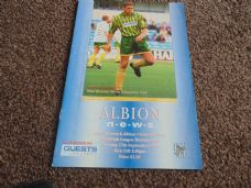 West Bromwich Albion v Grimsby Town, 1994/95